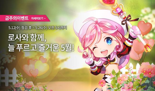 [주간/주말] 로사와 함께, 늘 푸르고 즐거운 5월!