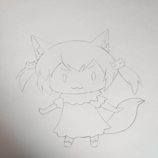 작은 생쥐 그림