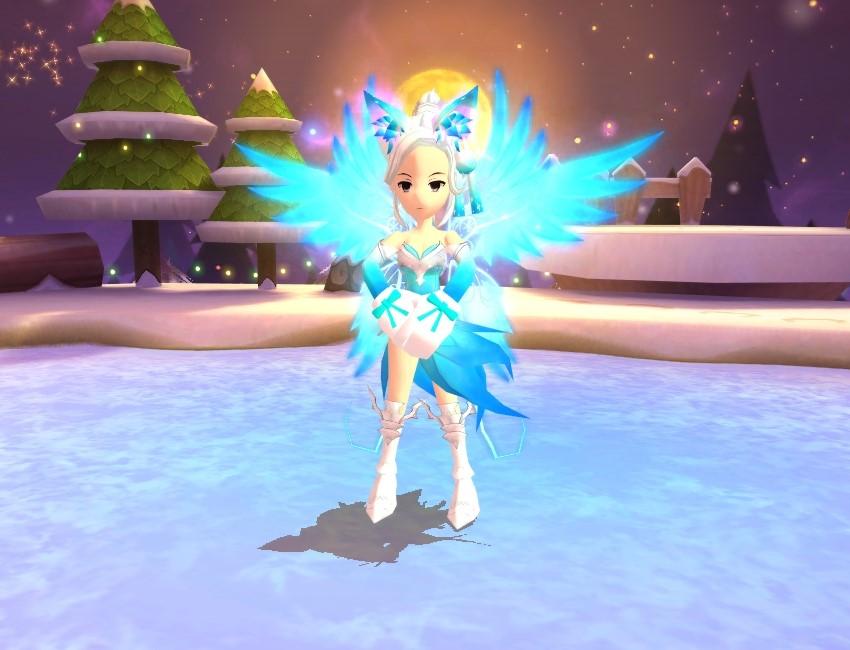 (저퀄 그림판) 푸른 릴리의 갑옷 & 릴리의 날개 & 구미호 요귀