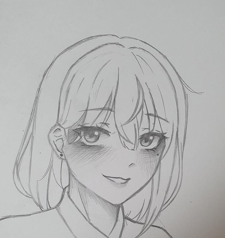 구구님 팬아트 스케치